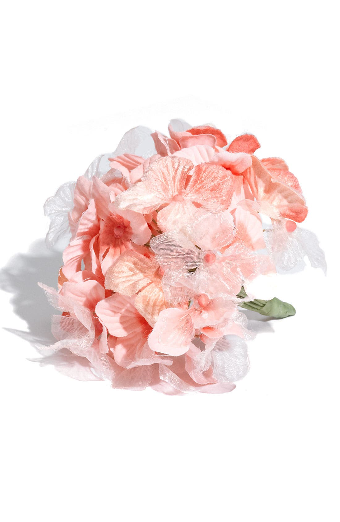 Main Image - Us Angels Faux Hydrangea Corsage (Girls)