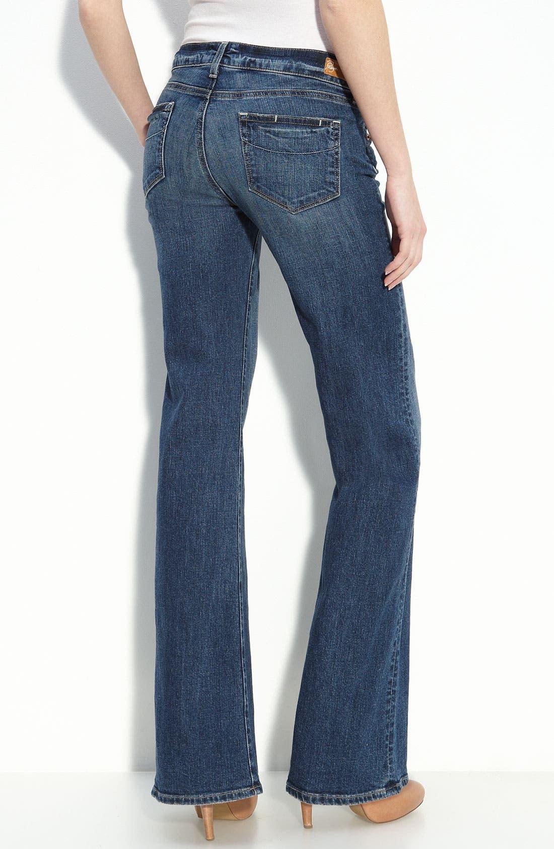 Alternate Image 2  - Paige Denim 'Bentley' Stretch Denim Trouser Jeans (Colette Wash)