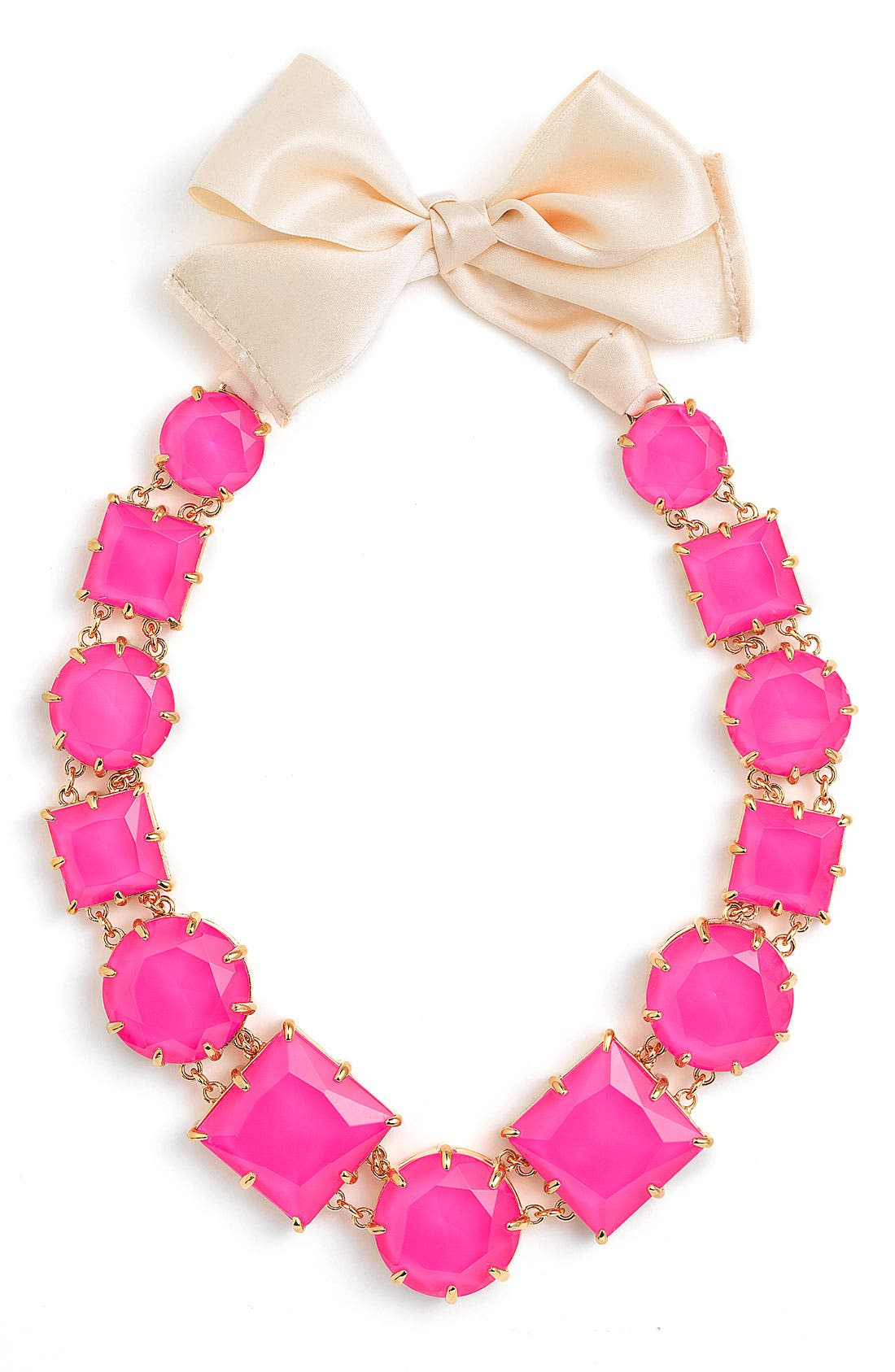 Alternate Image 1 Selected - kate spade new york 'crystal kaleidoscope' long statement necklace