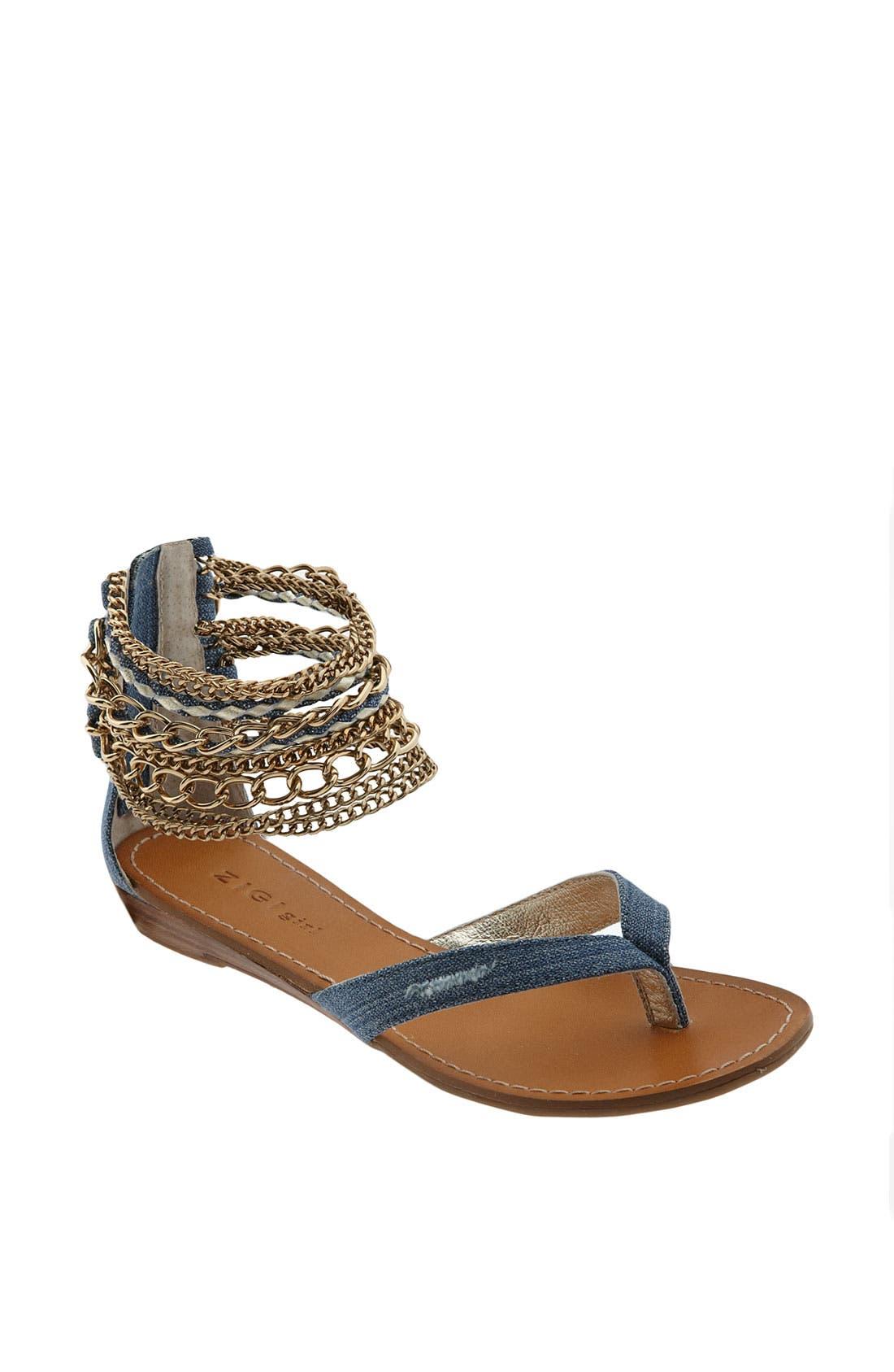 Alternate Image 1 Selected - ZiGi girl 'To Die For' Sandal