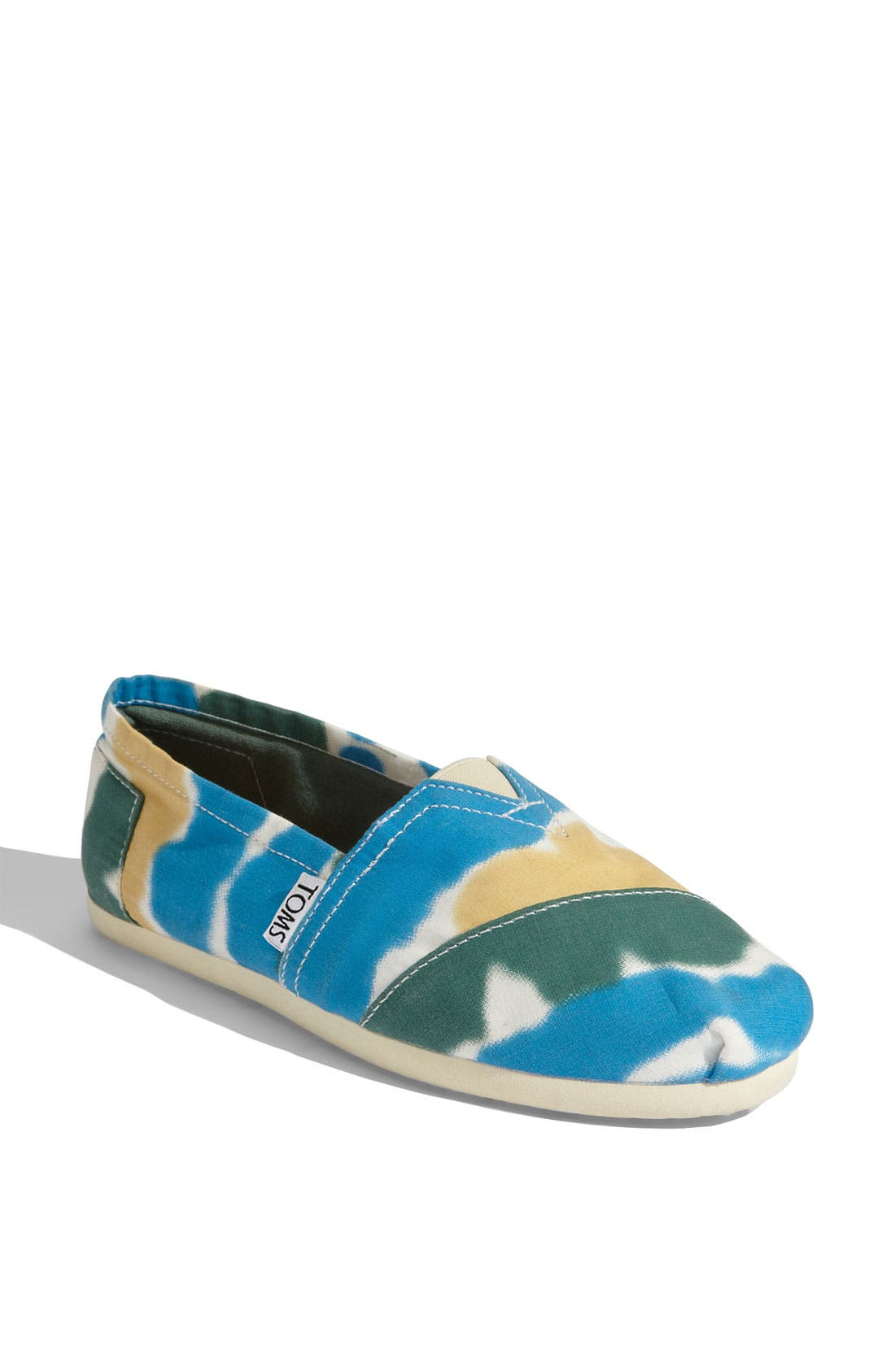 Main Image - TOMS Tie Dye Canvas Slip-On (Women) (Nordstrom Exclusive)