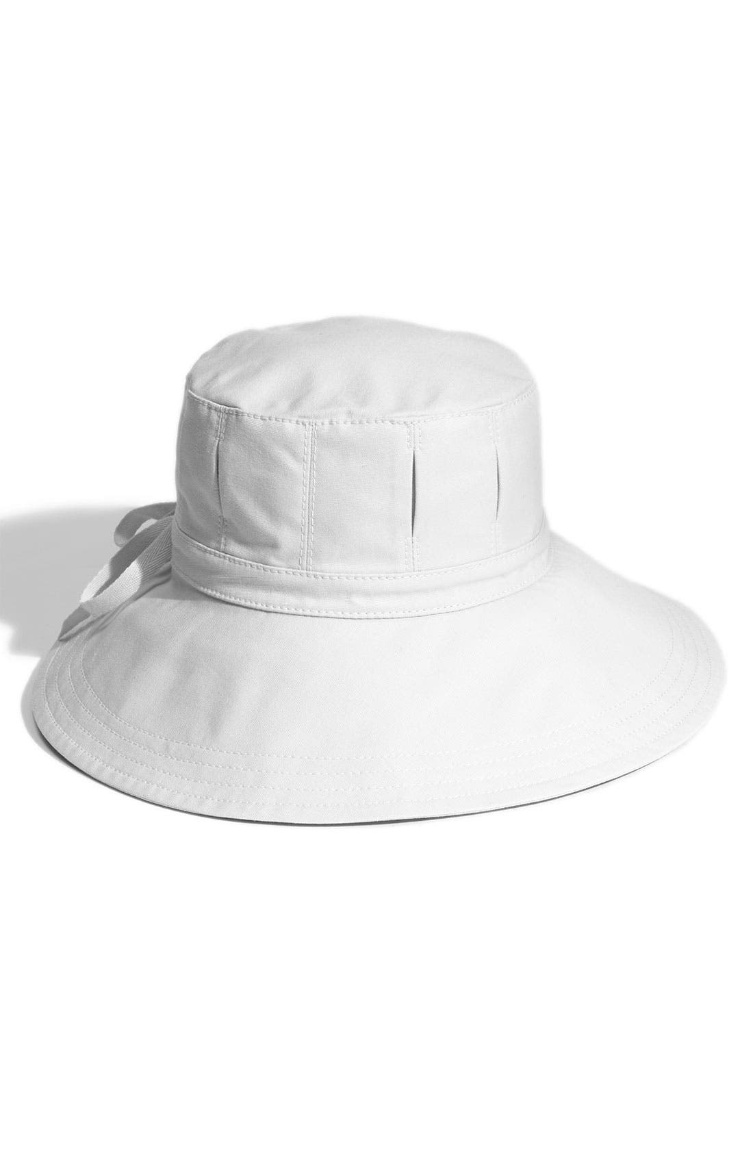 Alternate Image 1 Selected - Helen Kaminski 'Indira' Cotton Canvas Sun Hat