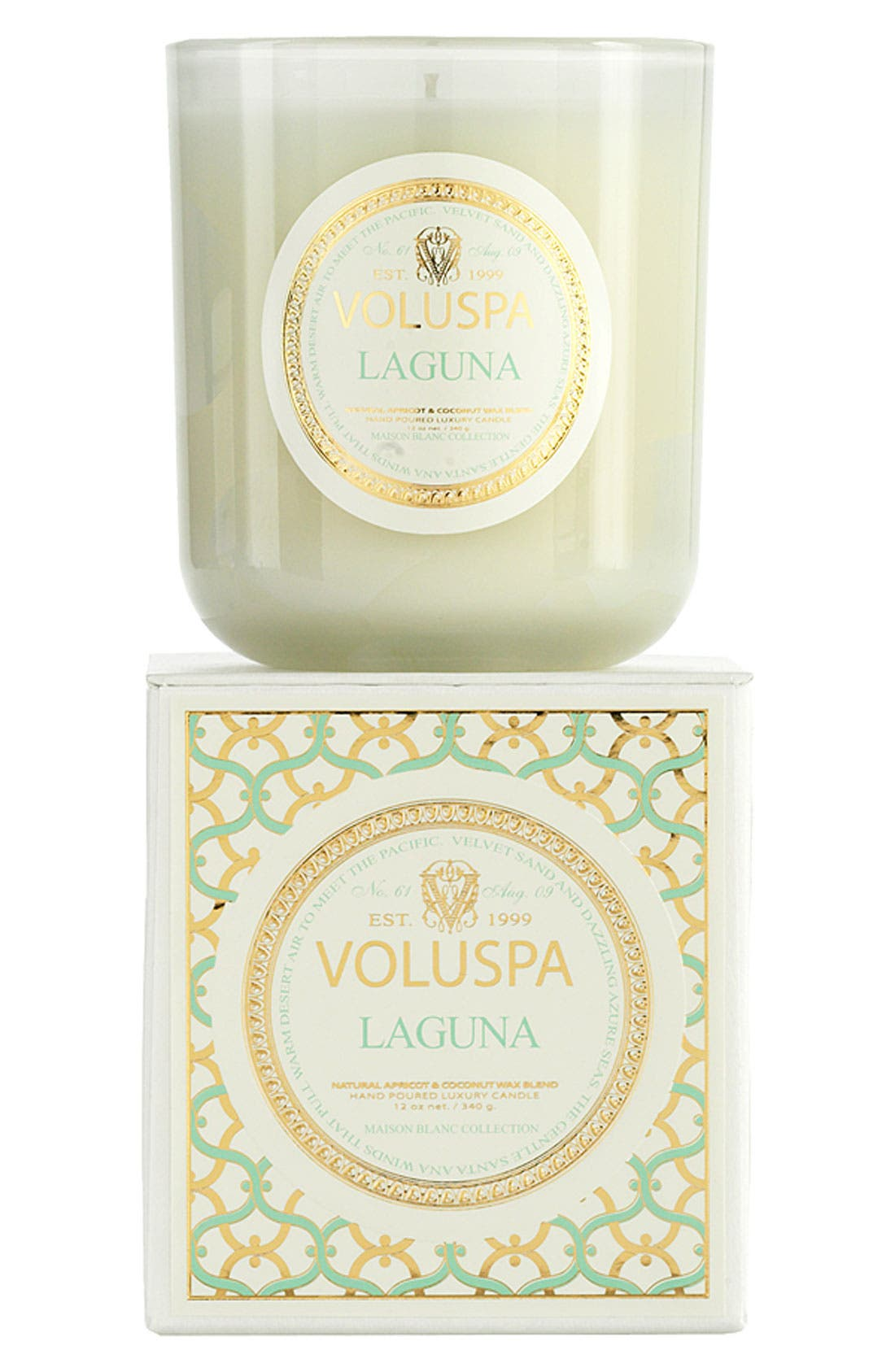 Alternate Image 1 Selected - Voluspa 'Maison Blanc - Laguna' Boxed Candle