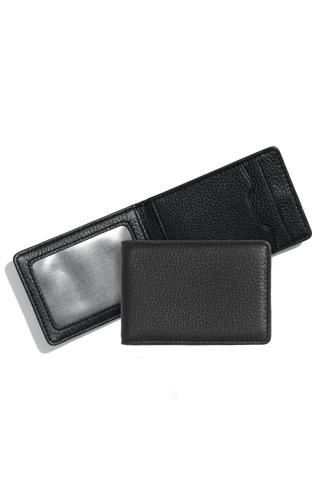 Alternate Image 1 Selected - Bosca Leather ID Wallet