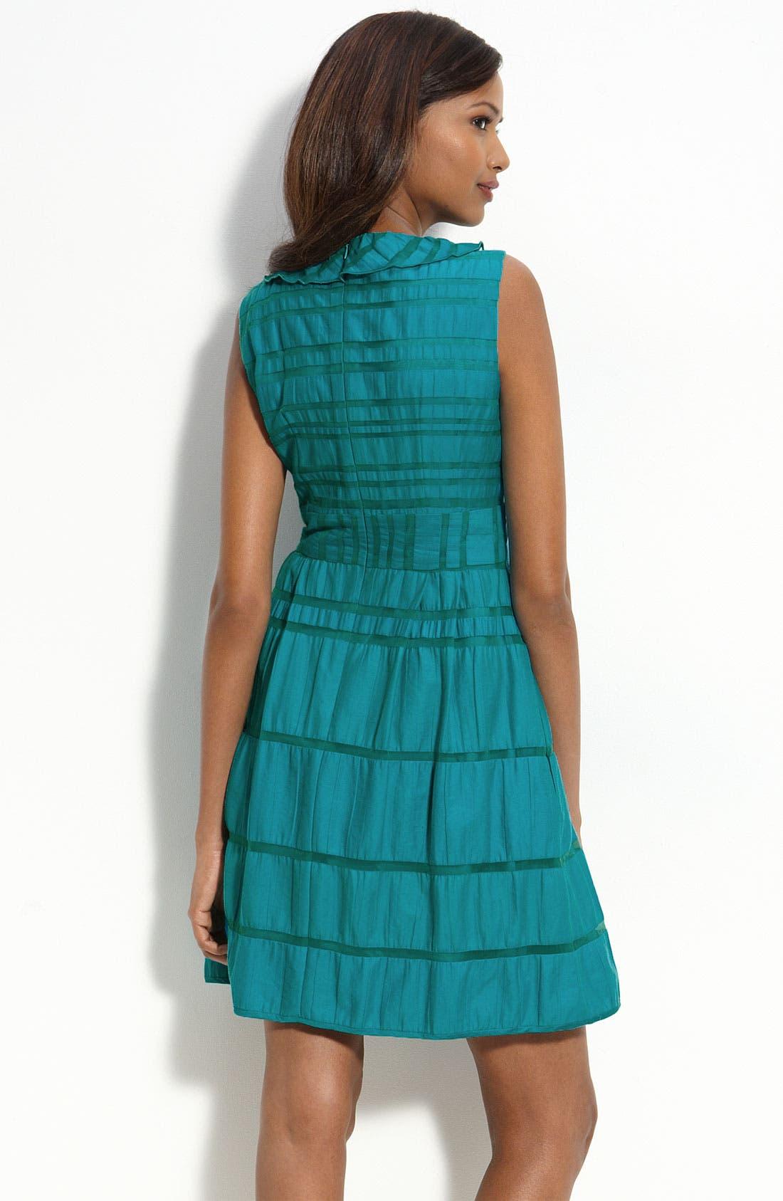 Alternate Image 2  - Nanette Lepore Ruffled Dress