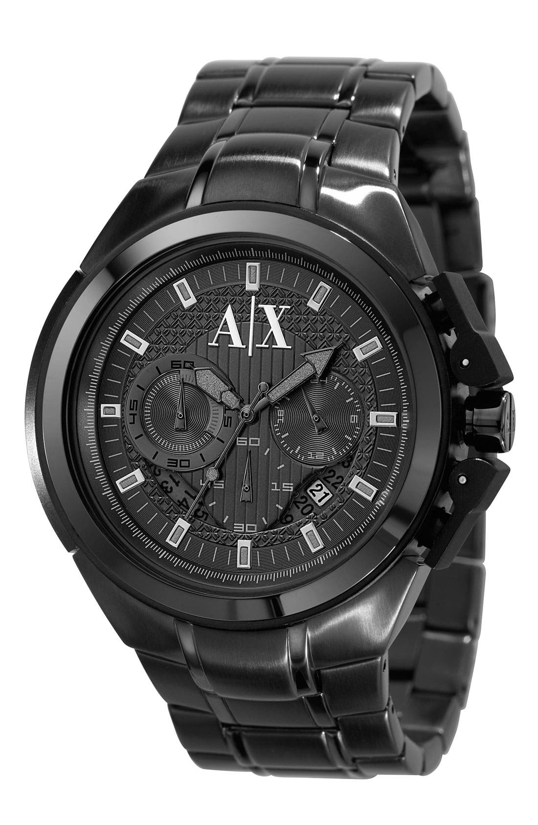 Main Image - AX Armani Exchange Men's Chronograph Watch, 45mm