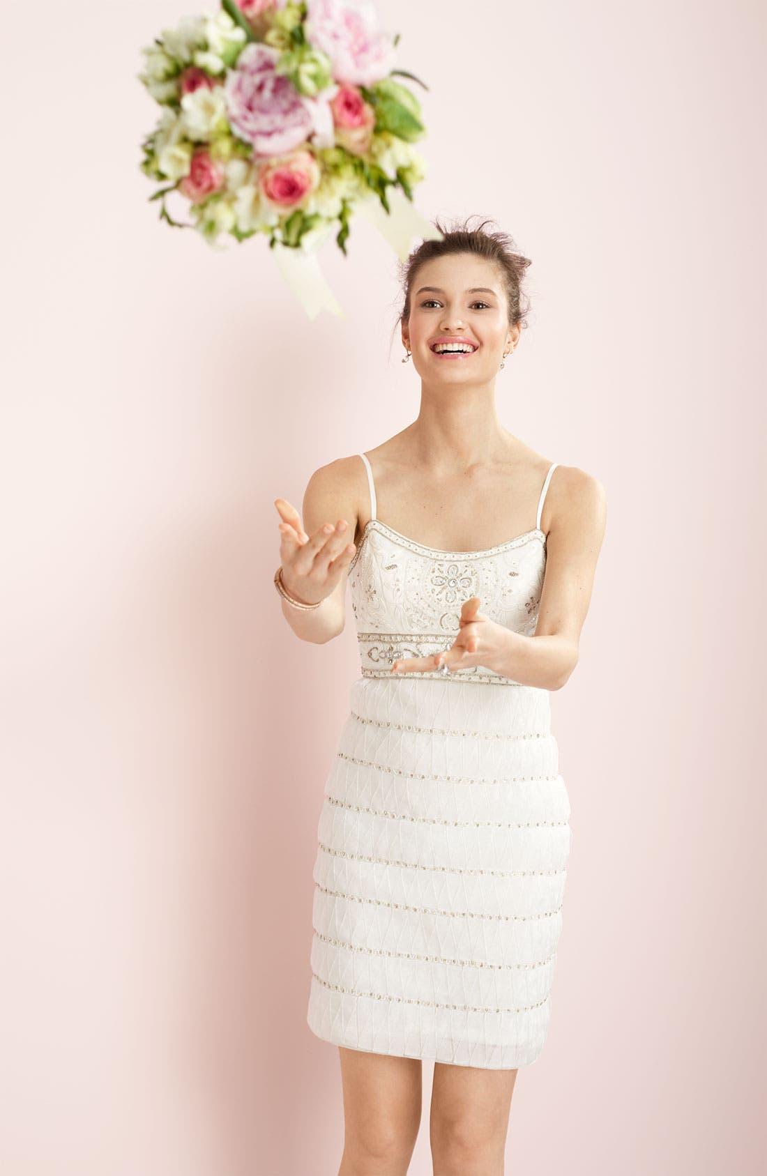 Alternate Image 3  - Sue Wong Embellished Mesh Dress