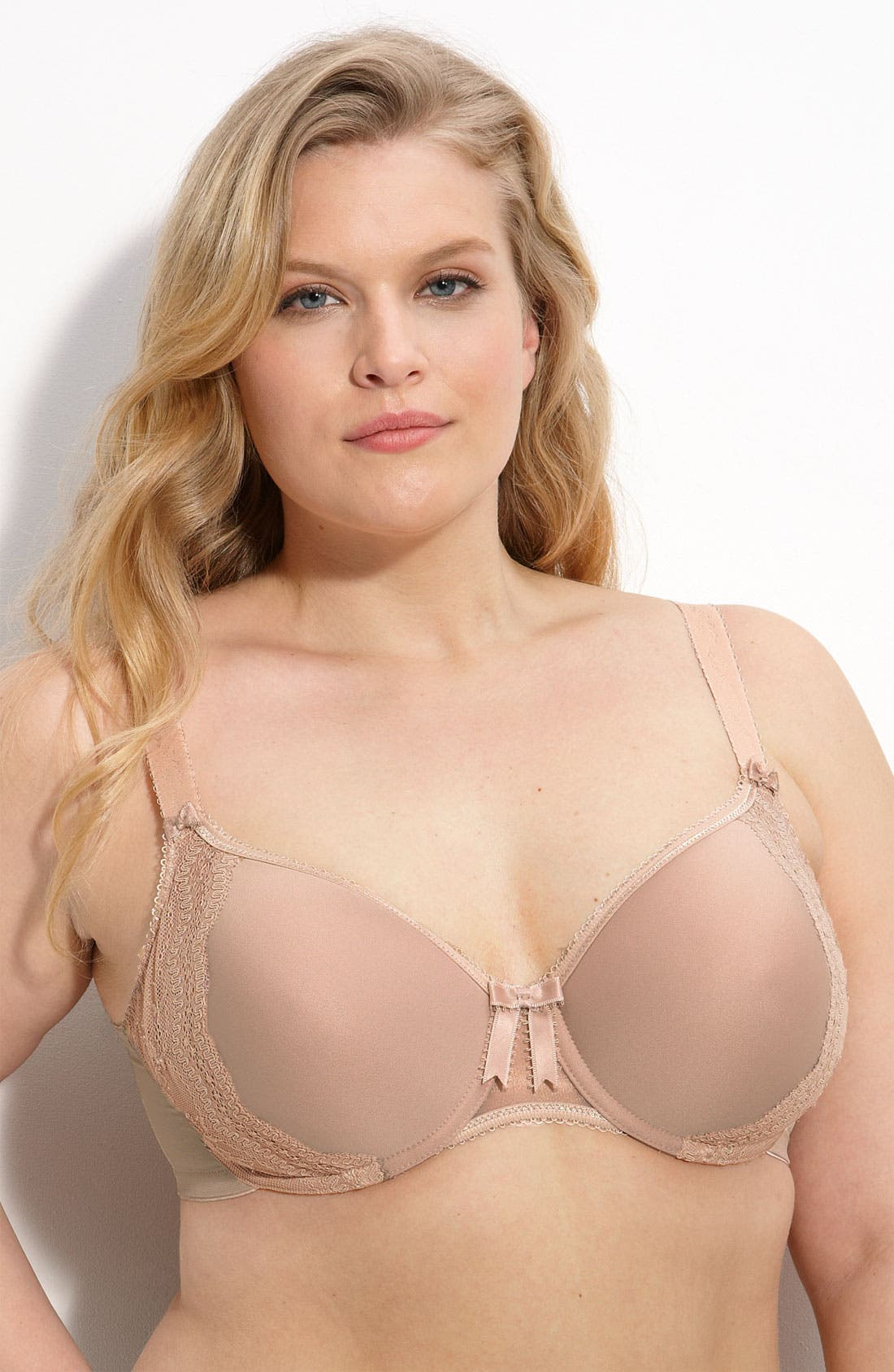 Alternate Image 1 Selected - Elomi 'Hermione - EL8120' Contour Underwire Bra (Plus Size)