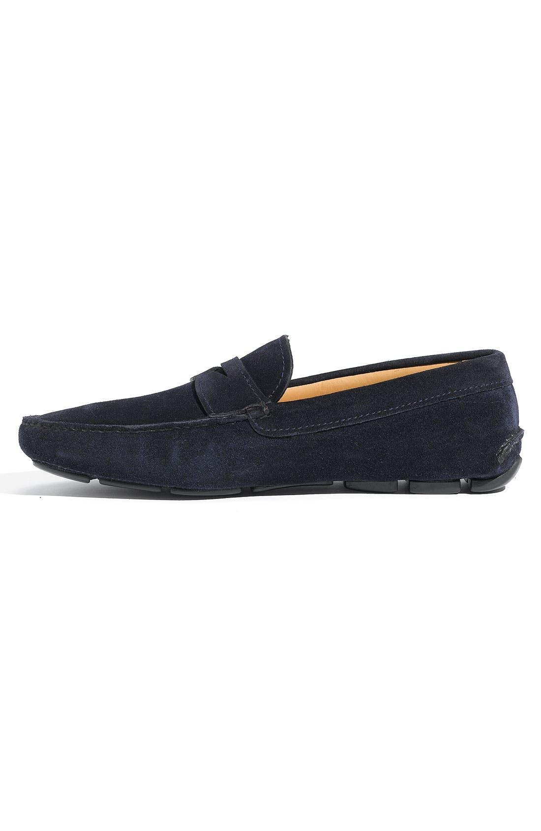 Alternate Image 2  - Prada Suede Penny Driving Shoe (Men)