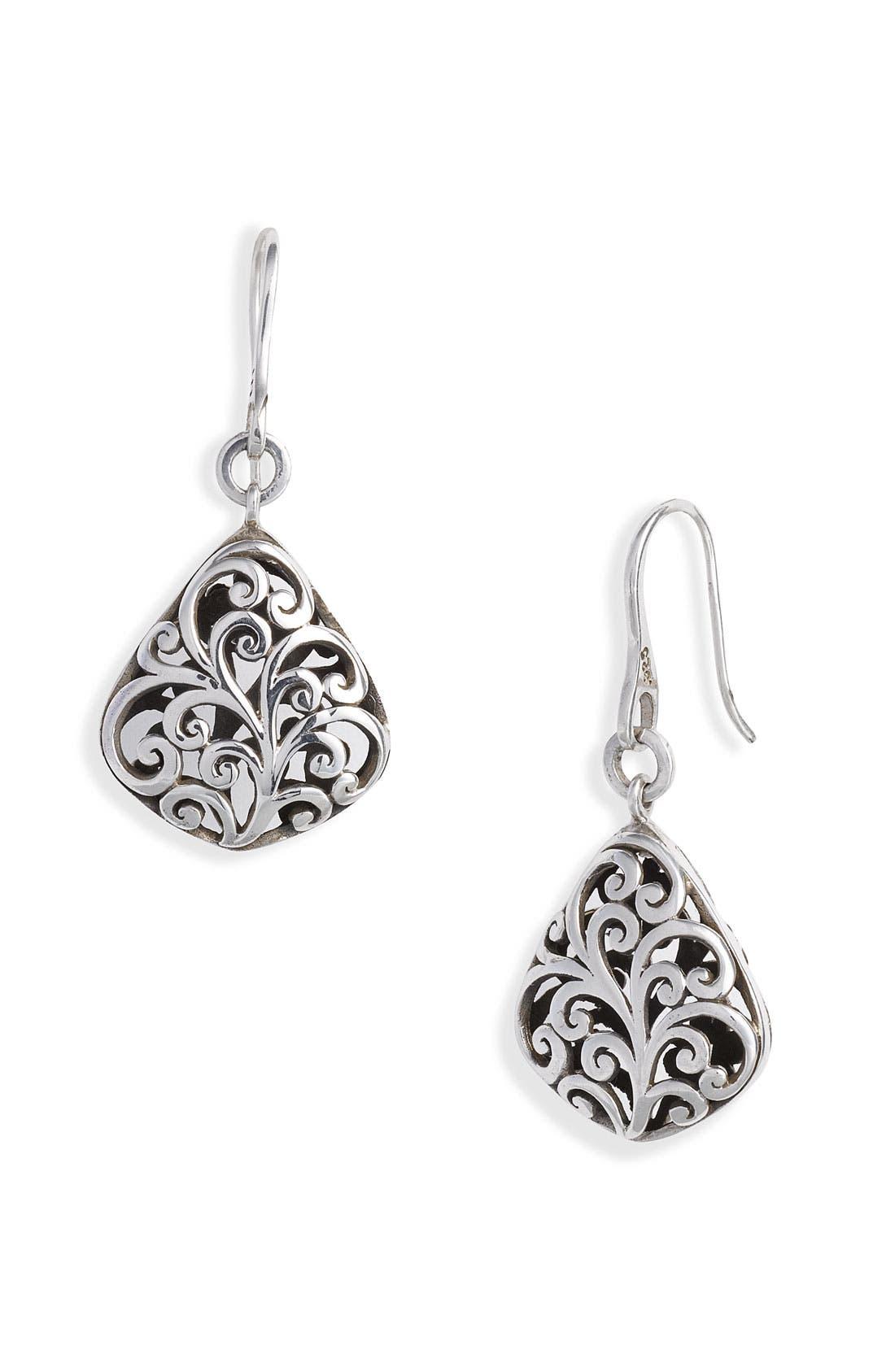 Main Image - Lois Hill 'Cage' Diamond Shape Drop Earrings