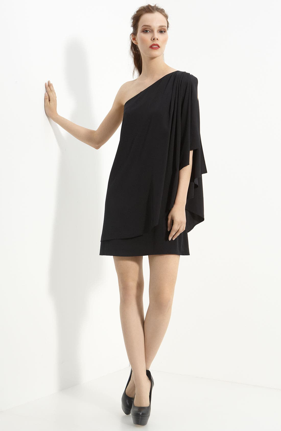 Alternate Image 1 Selected - Rachel Zoe 'Grecian' Stretch Silk Dress
