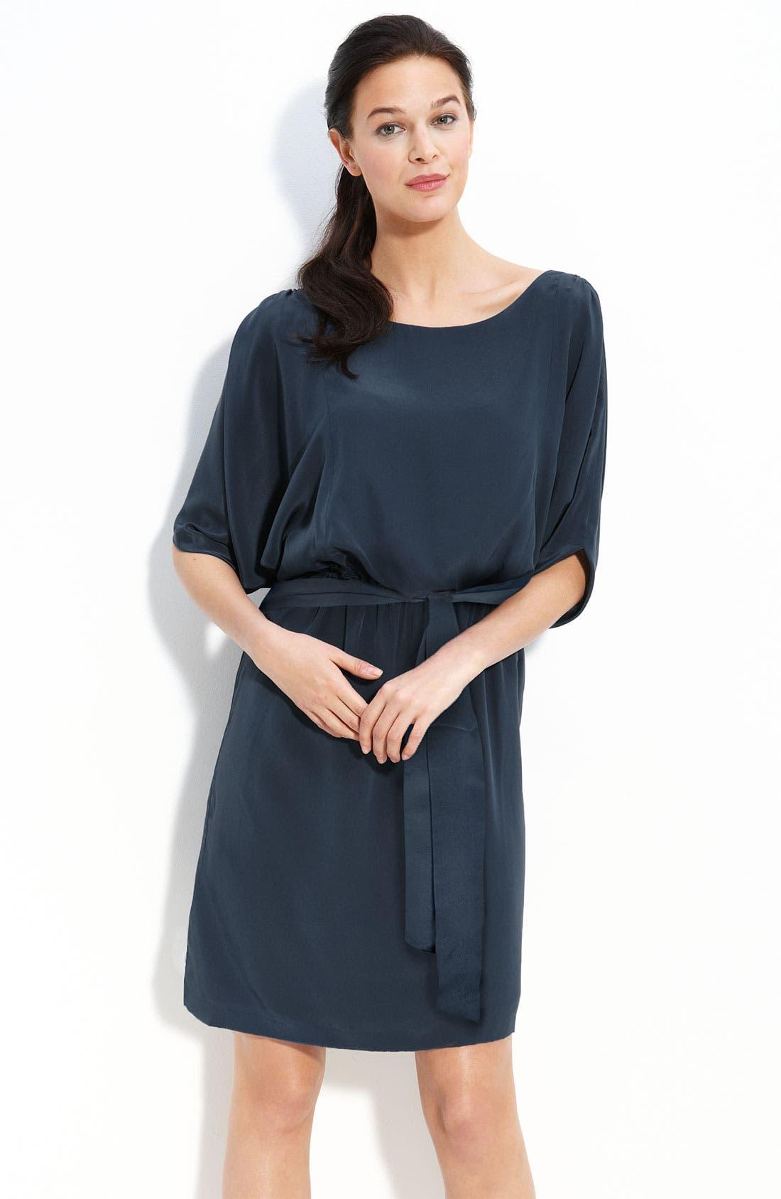 Main Image - Suzi Chin for Maggy Boutique Silk Blouson Dress