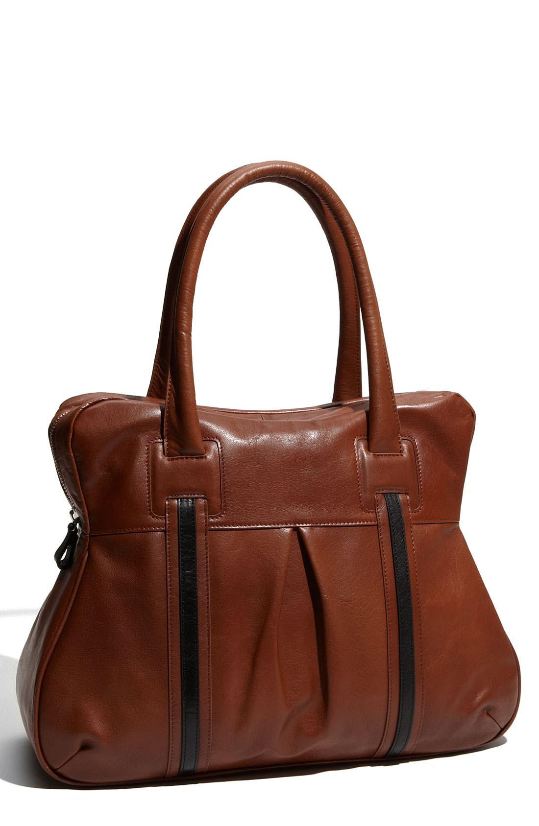 Main Image - Halogen® 2-Tone Leather Tote