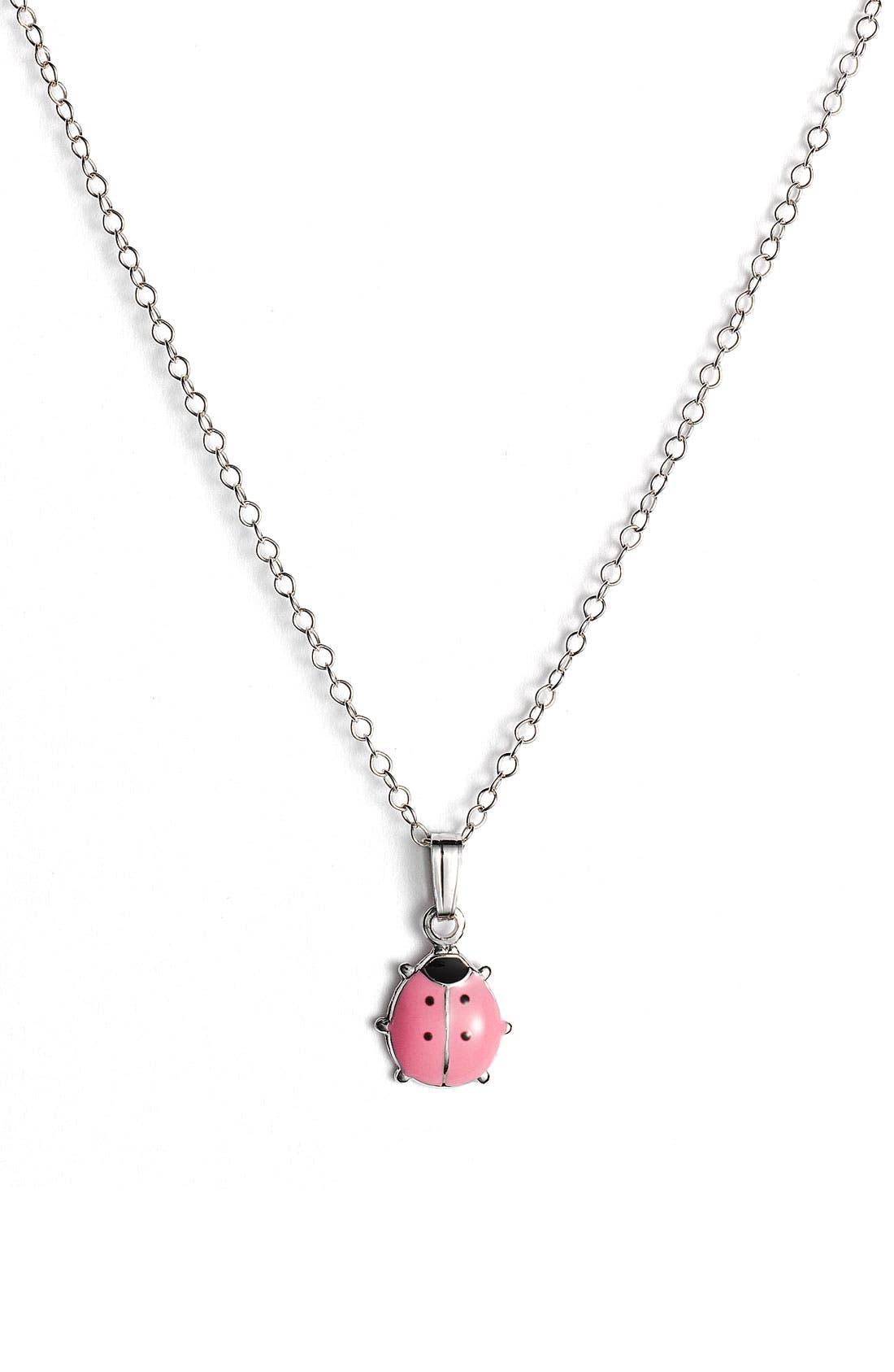 Alternate Image 1 Selected - Marathon Ladybug Pendant (Infant)