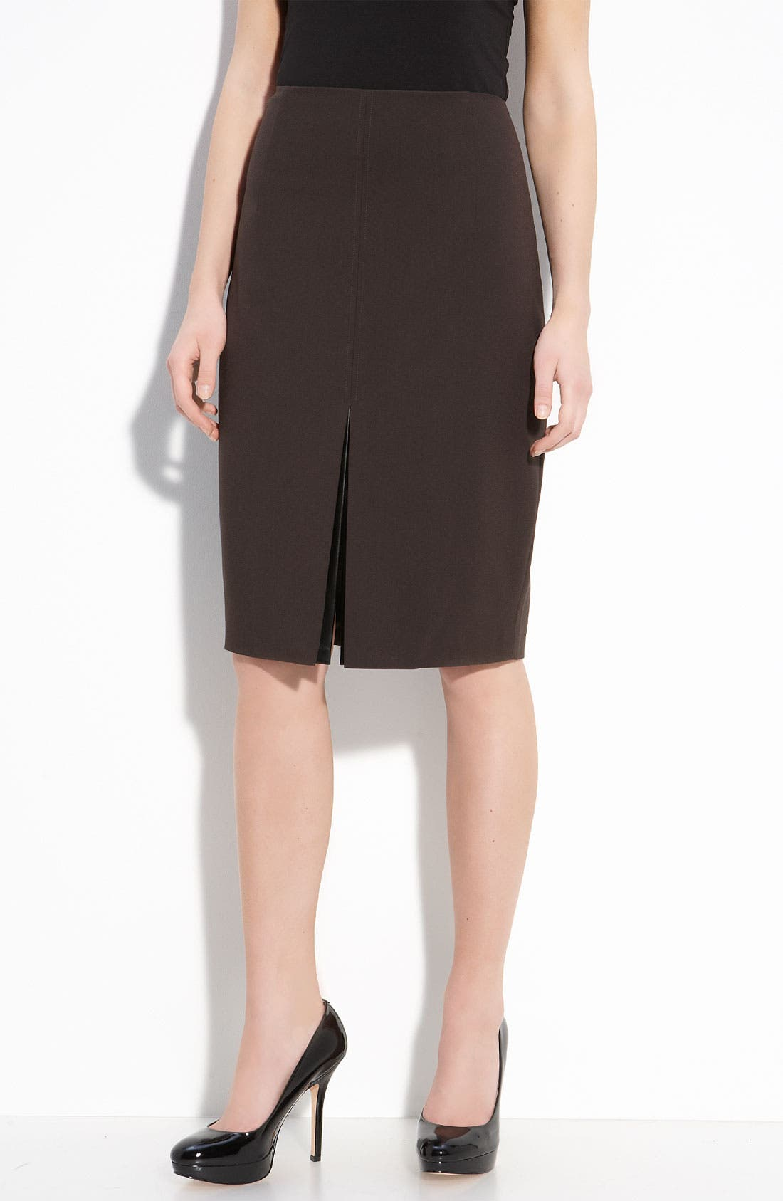 Alternate Image 1 Selected - Elie Tahari Exclusive for Nordstrom 'Julie' Knit Skirt