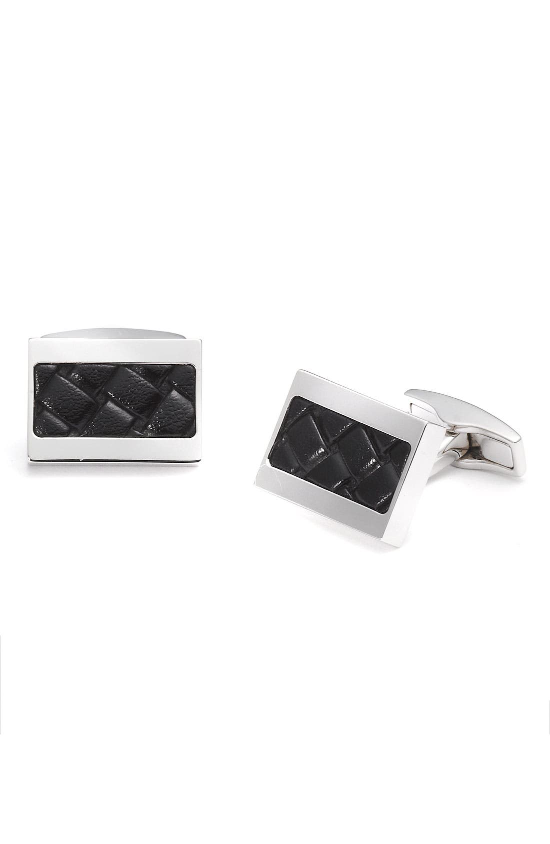 Alternate Image 1 Selected - BOSS Black 'Kornell' Cuff Links