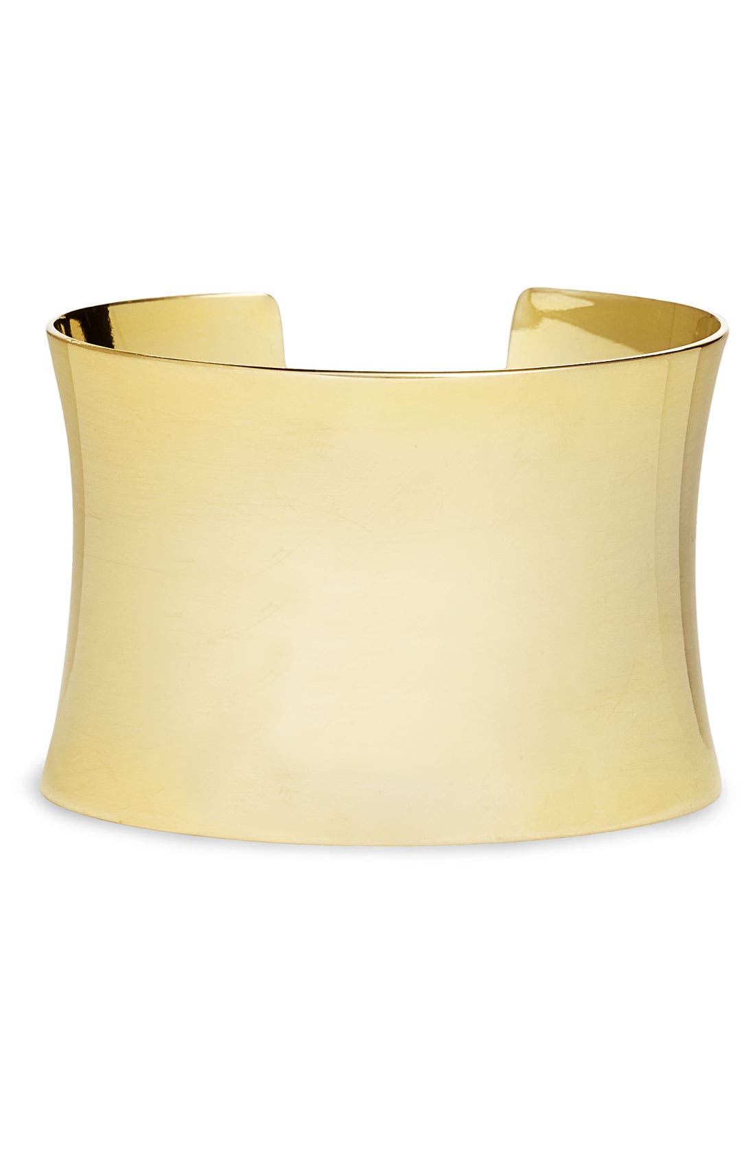 Alternate Image 1 Selected - Nordstrom 'Super Shiny' Curved Cuff