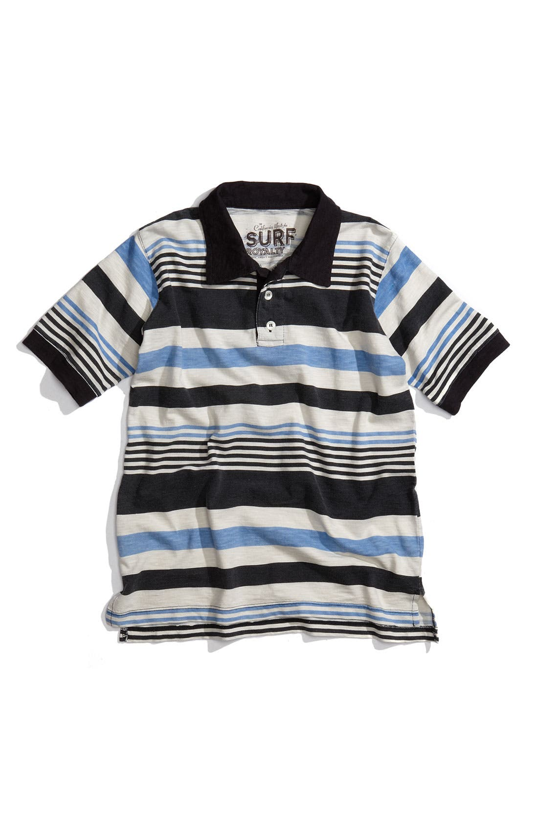 Alternate Image 1 Selected - Peek 'Malibu Stripe' Polo (Toddler)