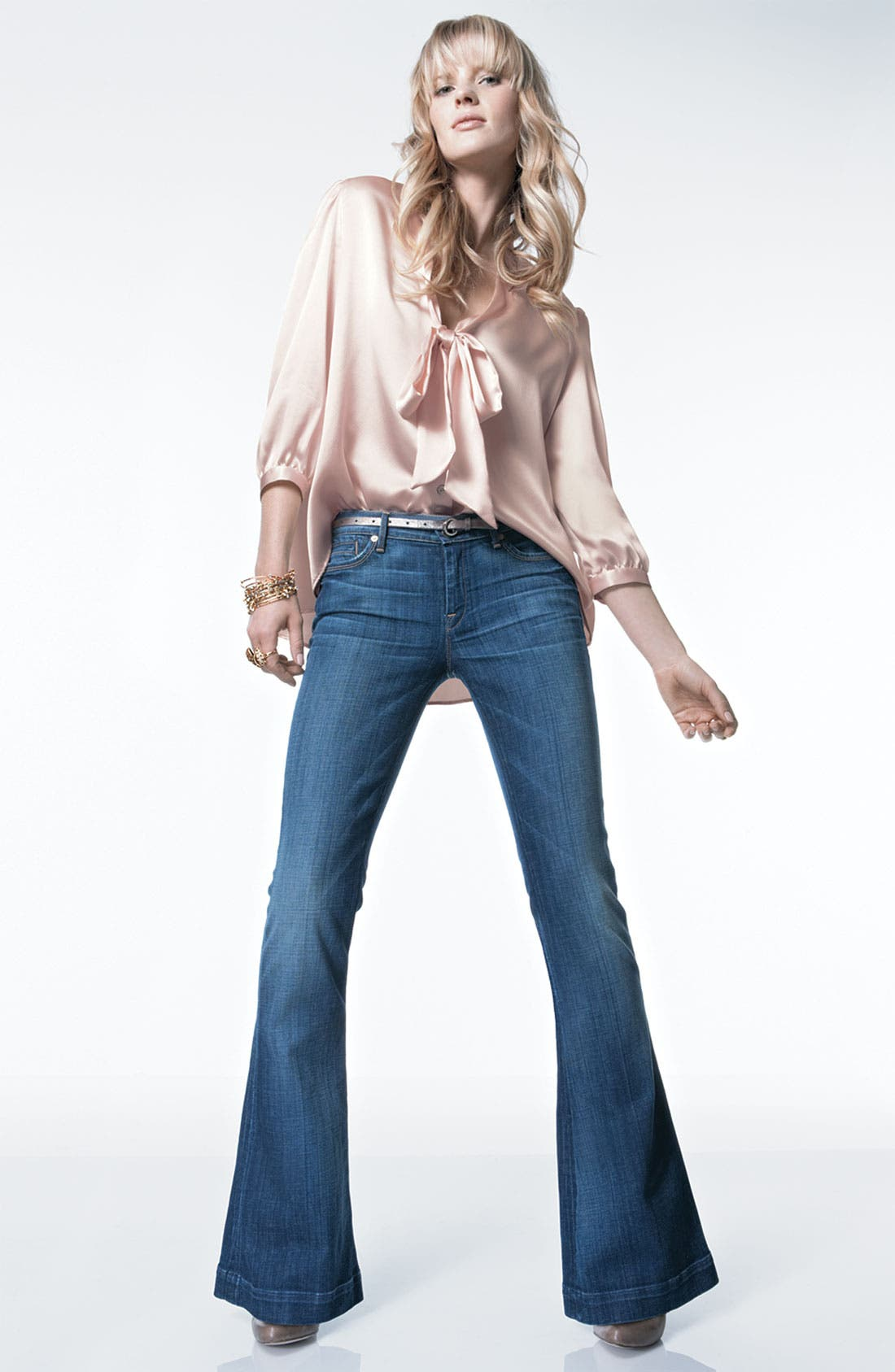 Alternate Image 4  - Remain Tie Neck Satin Blouse