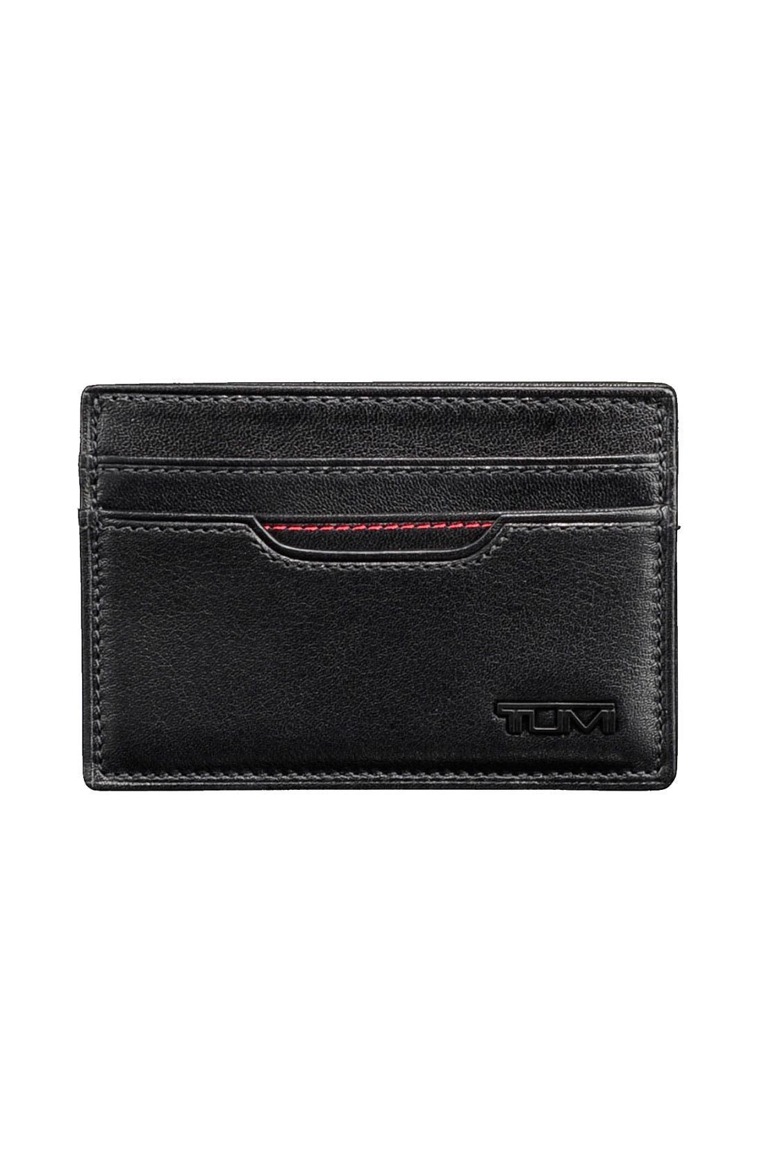 Alternate Image 1 Selected - Tumi 'Delta' Slim Card Case ID Wallet