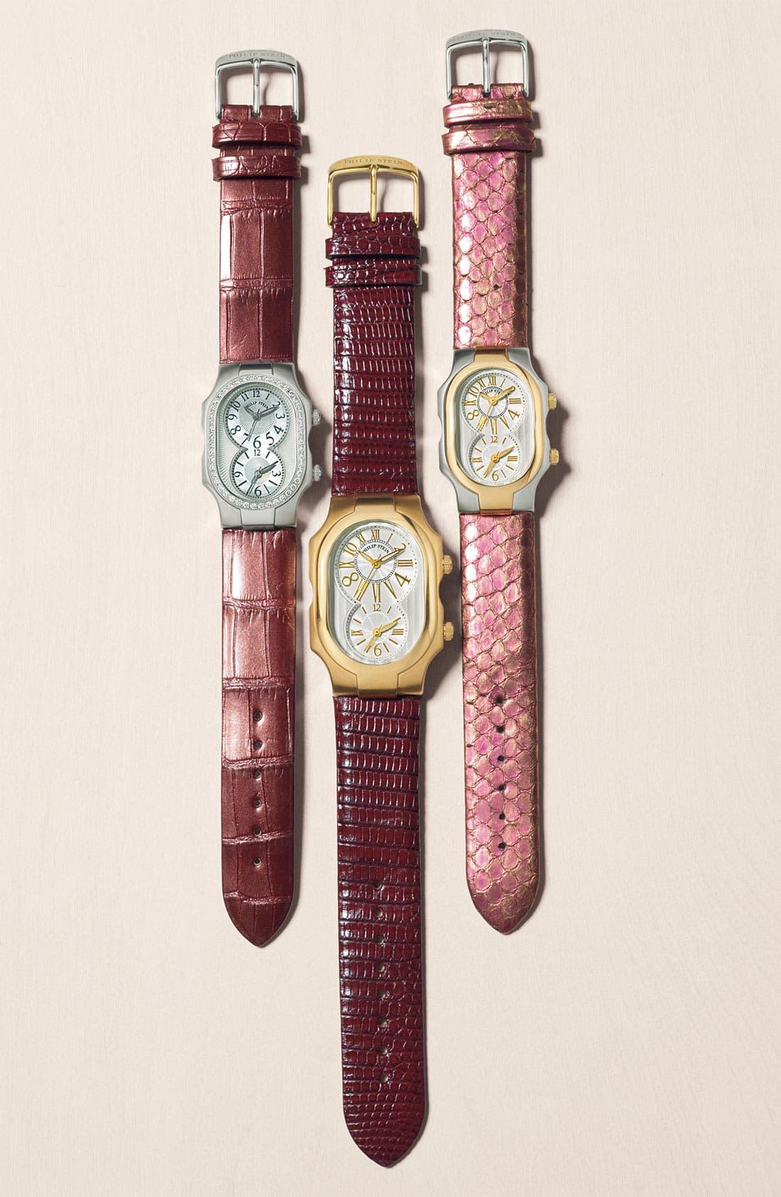 Alternate Image 4  - Philip Stein® 'Signature' Small Two Tone Watch Case