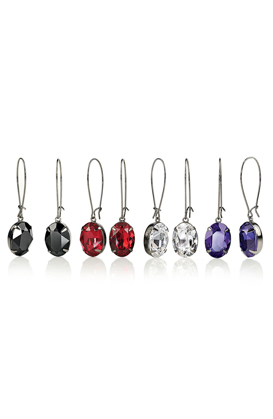 Alternate Image 2  - Nordstrom Crystal Collection Drop Earrings