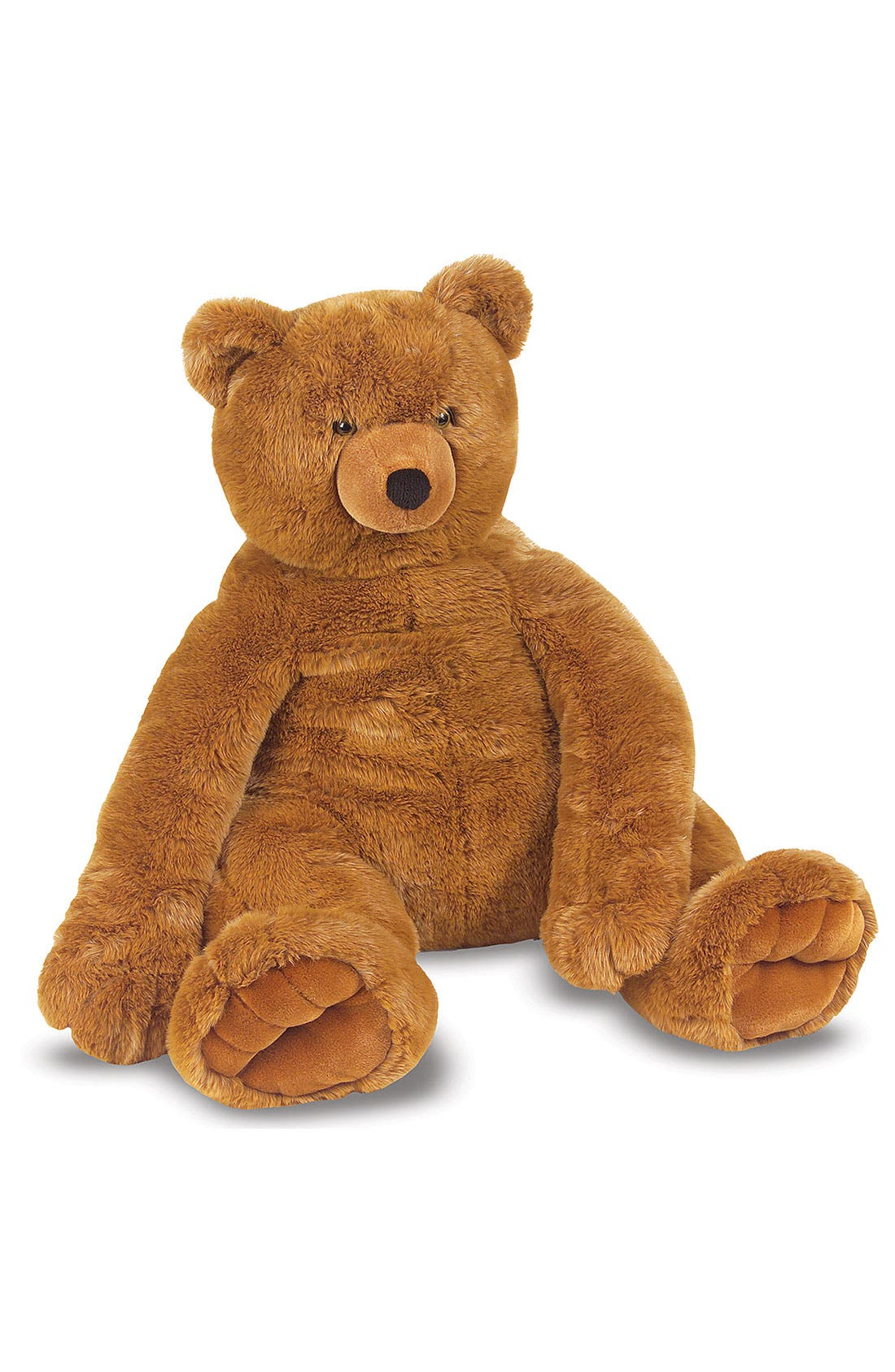 Alternate Image 2  - Melissa & Doug Oversized Brown Teddy Bear