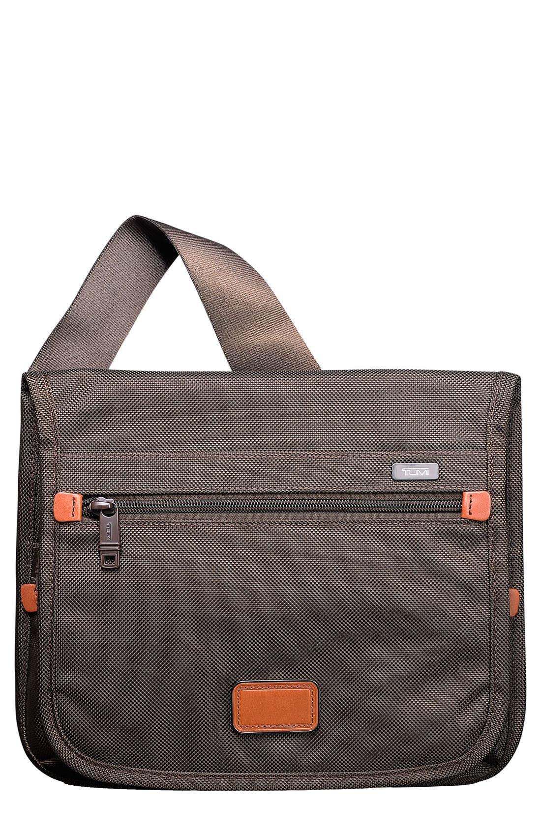 Alternate Image 1 Selected - Tumi 'Small Alpha' Flap Crossbody Bag
