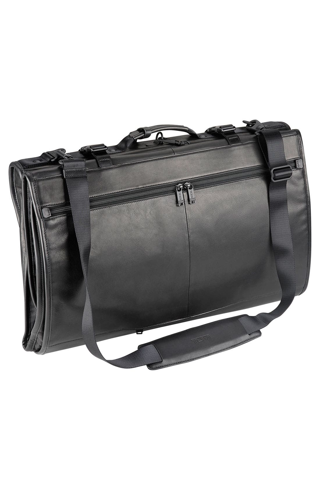 Alternate Image 2  - Tumi Trifold Carry On Leather Garment Carrier
