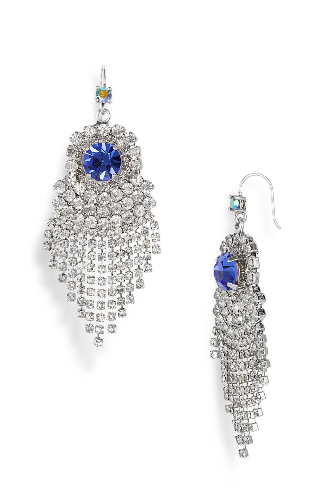 Main Image - Juicy Couture 'Hard Core Couture' Chandelier Fringe Earrings