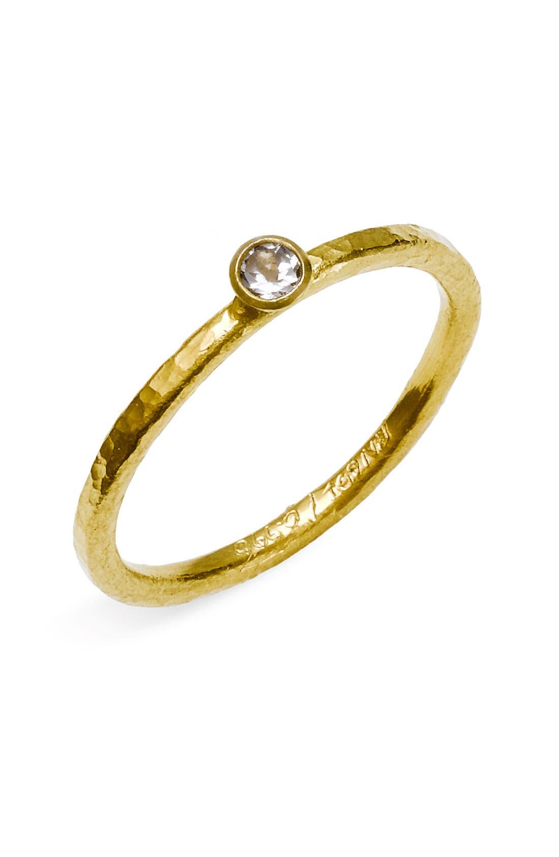 Alternate Image 1 Selected - Gurhan 'Skittle' Stackable Black Diamond Ring