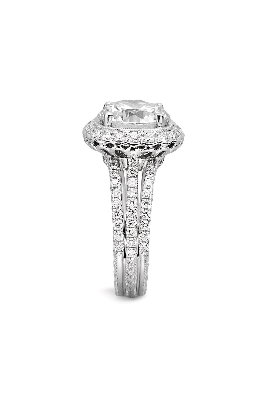 Alternate Image 2  - Jack Kelége 'Romance' Diamond Engagement Ring Setting