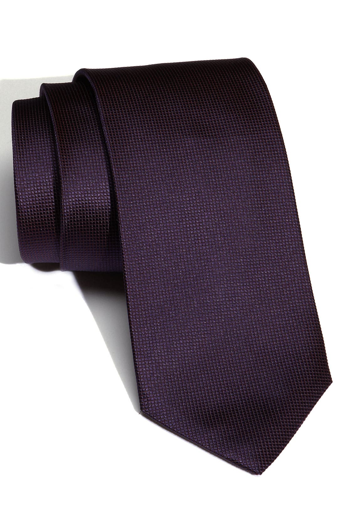 Alternate Image 1 Selected - BOSS Woven Silk Tie