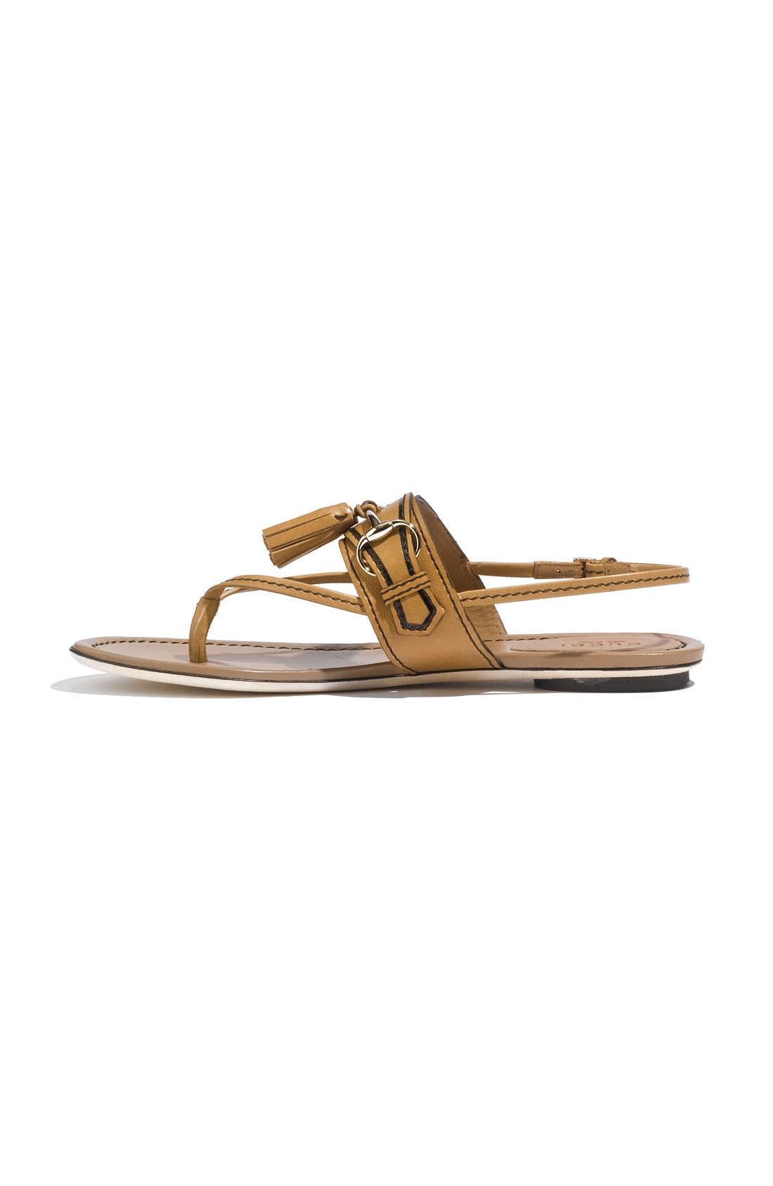 Alternate Image 2  - Gucci 'Emily' Tassel Sandal
