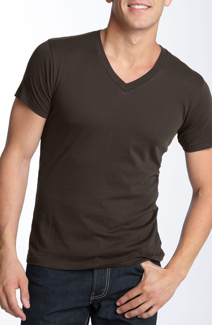 Alternative slim fit v neck t shirt nordstrom for Slim v neck t shirt