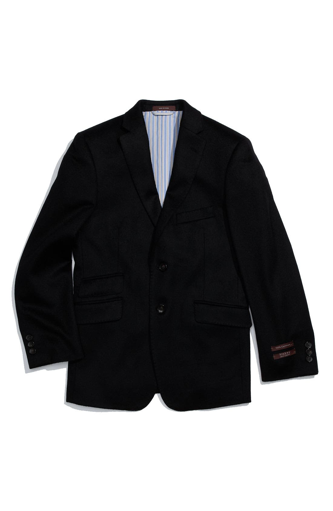 Main Image - Hickey Freeman Cashmere Sport Coat (Big Boys)