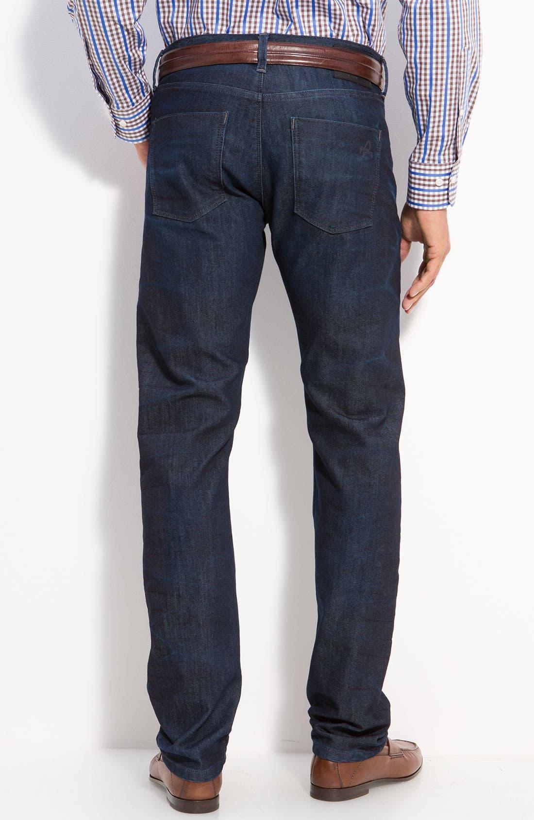 Alternate Image 2  - DL1961 'Russell' Slim Straight Jeans (Como)