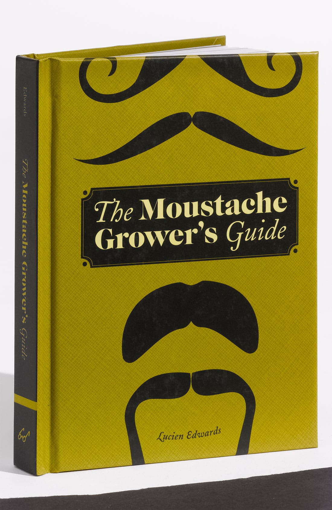 Main Image - Lucien Edwards 'The Moustache Grower's Guide' Book