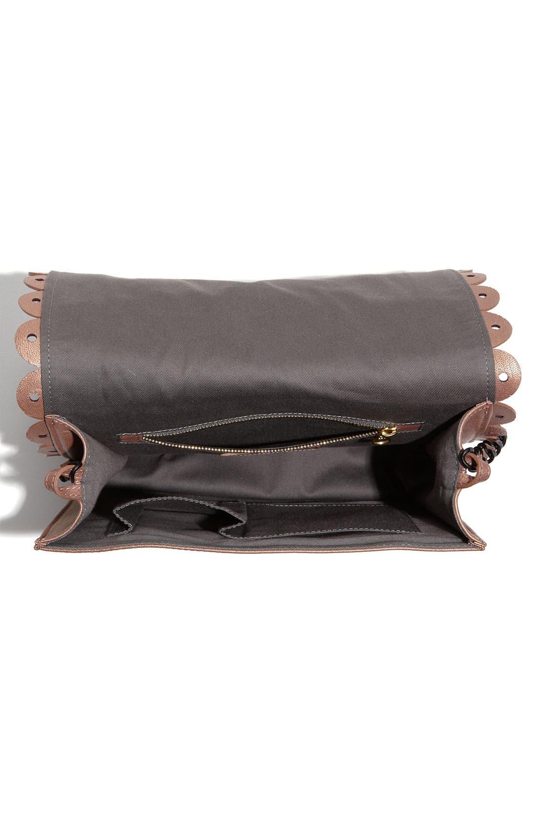 Alternate Image 3  - See By Chloé 'Poya Vintage - Large' Metallic Leather Satchel