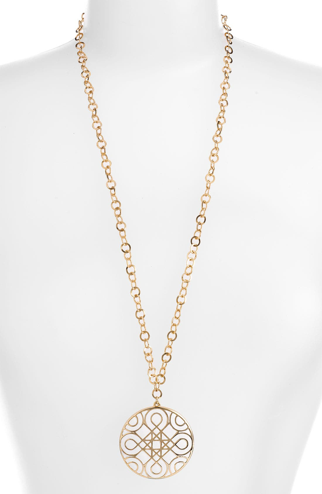 Main Image - Nordstrom 'Eclectic Mosaic' Long Statement Pendant Necklace