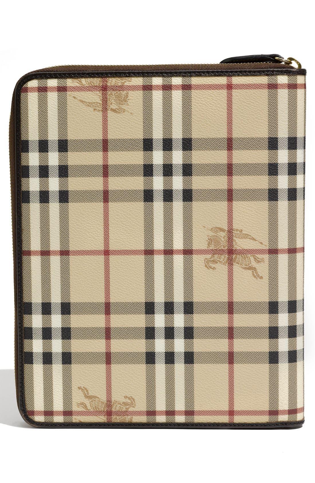 Alternate Image 3  - Burberry 'Haymarket Check' Zip Around iPad 2 Case