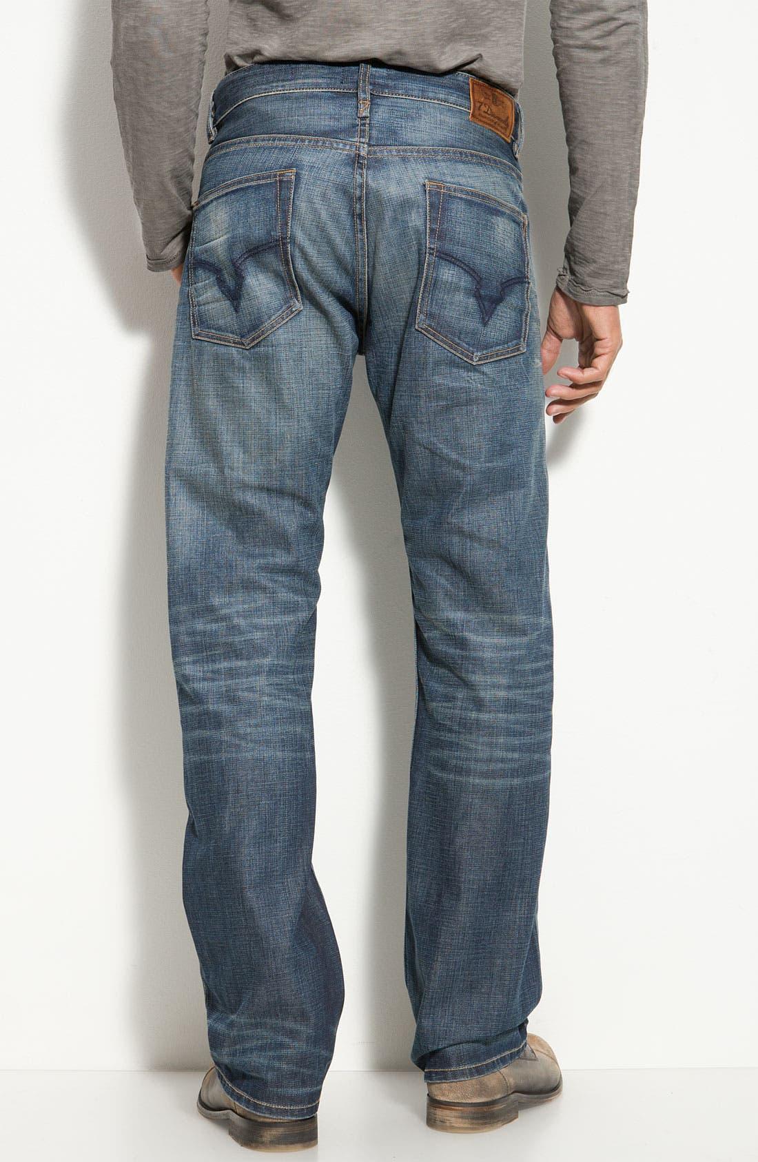 Alternate Image 1 Selected - 7 Diamonds 'Romley' Straight Leg Jeans (Dusk)