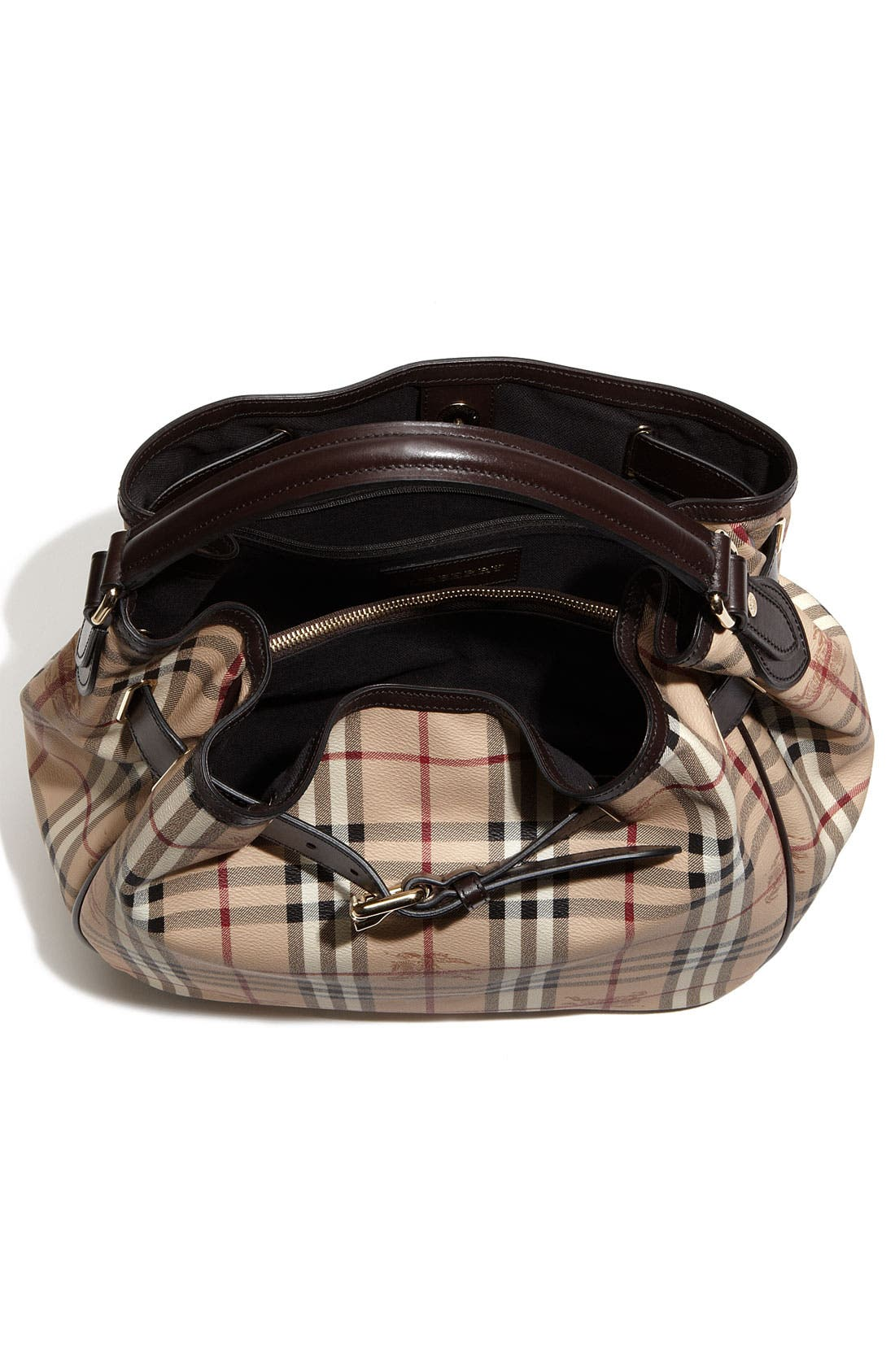 Alternate Image 3  - Burberry 'Haymarket Check' Hobo