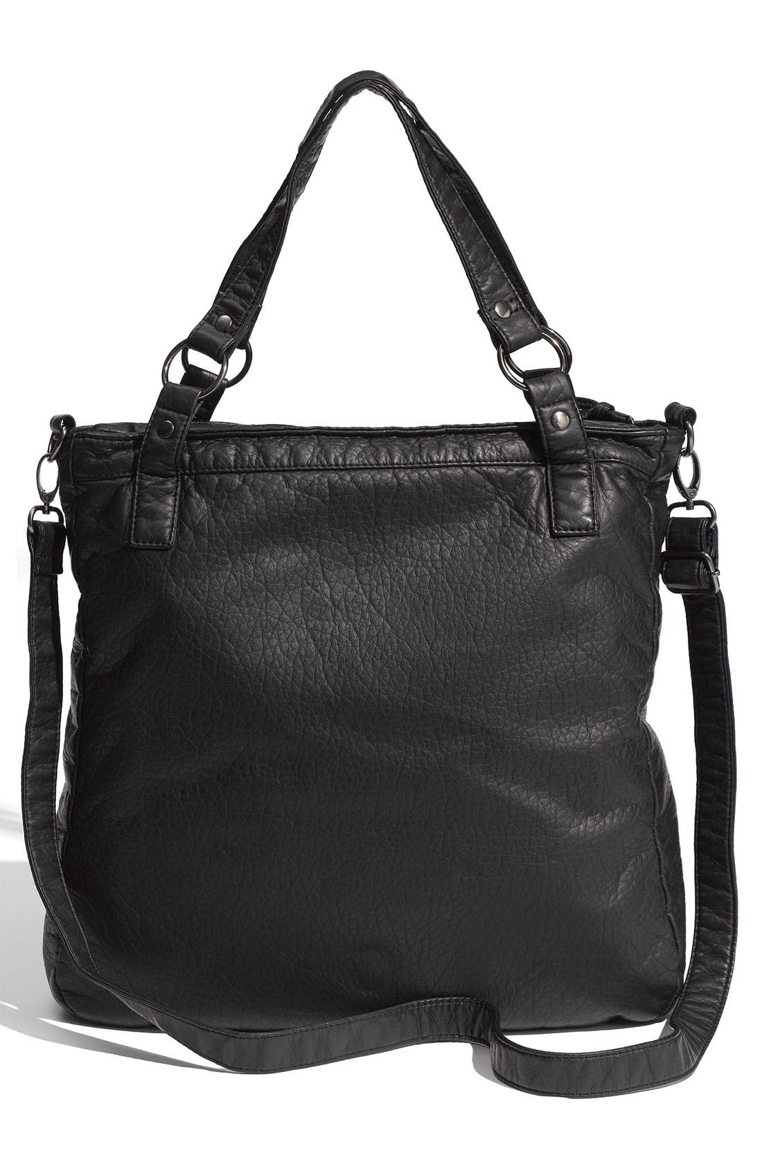 Alternate Image 3  - Cesca 'Jane' Weathered Faux Leather Tote