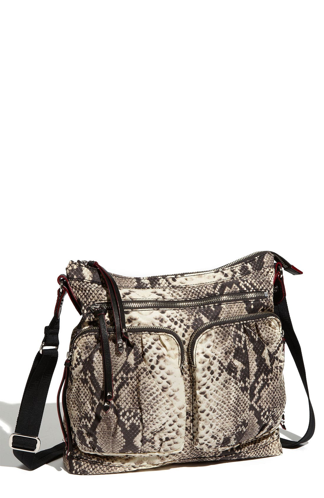 Alternate Image 1 Selected - M Z Wallace 'Mia' Snake Print Crossbody Bag