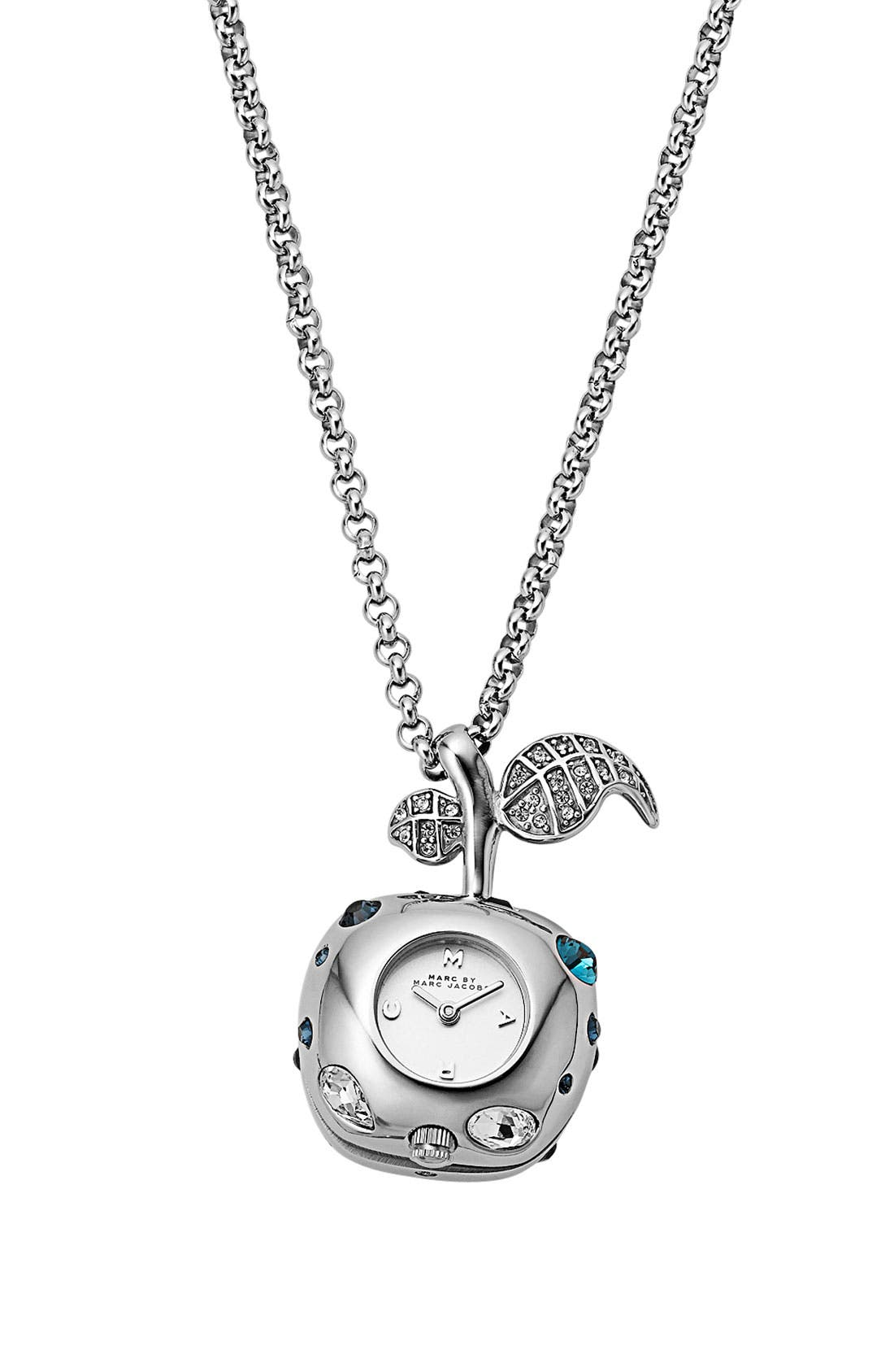 Alternate Image 1 Selected - MARC BY MARC JACOBS 'Dexter Bauble' Watch Necklace