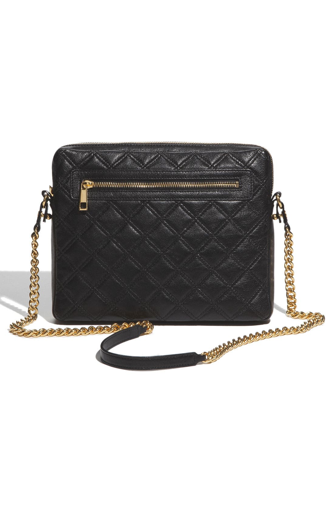 Alternate Image 4  - MARC JACOBS 'Quilting' Leather Crossbody iPad Case