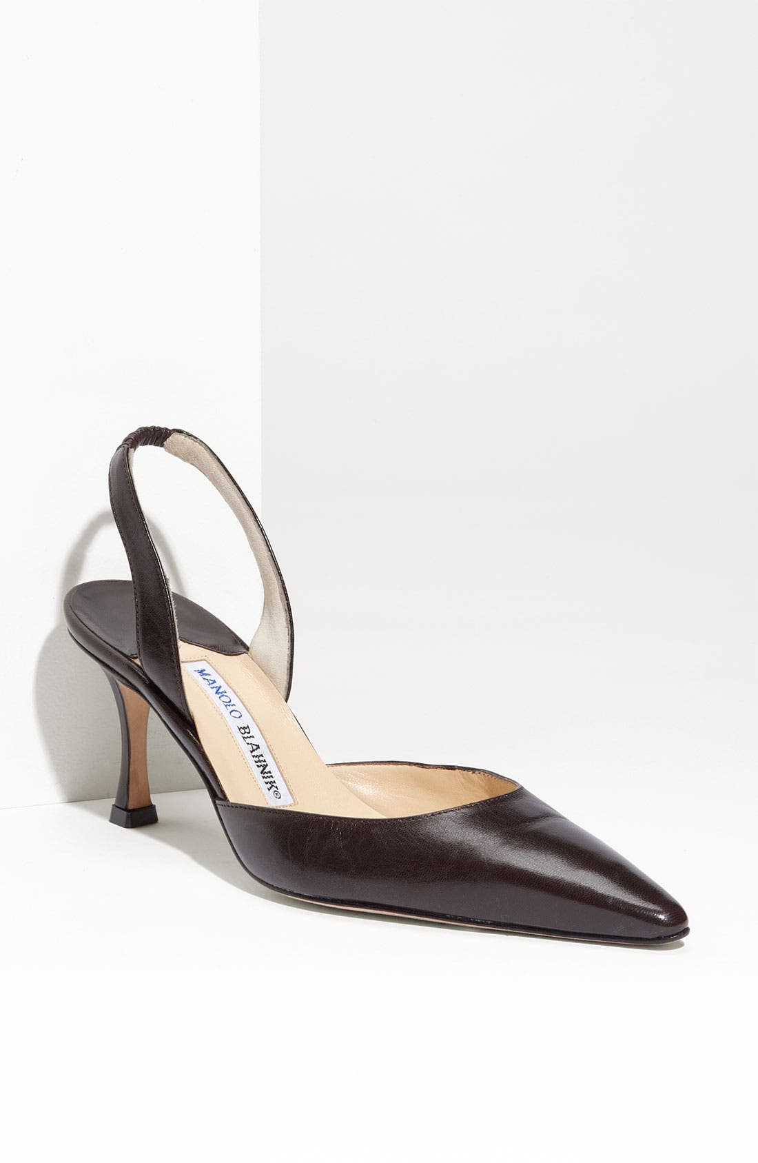 Alternate Image 1 Selected - Manolo Blahnik 'Carolyne 7' Slingback Pump