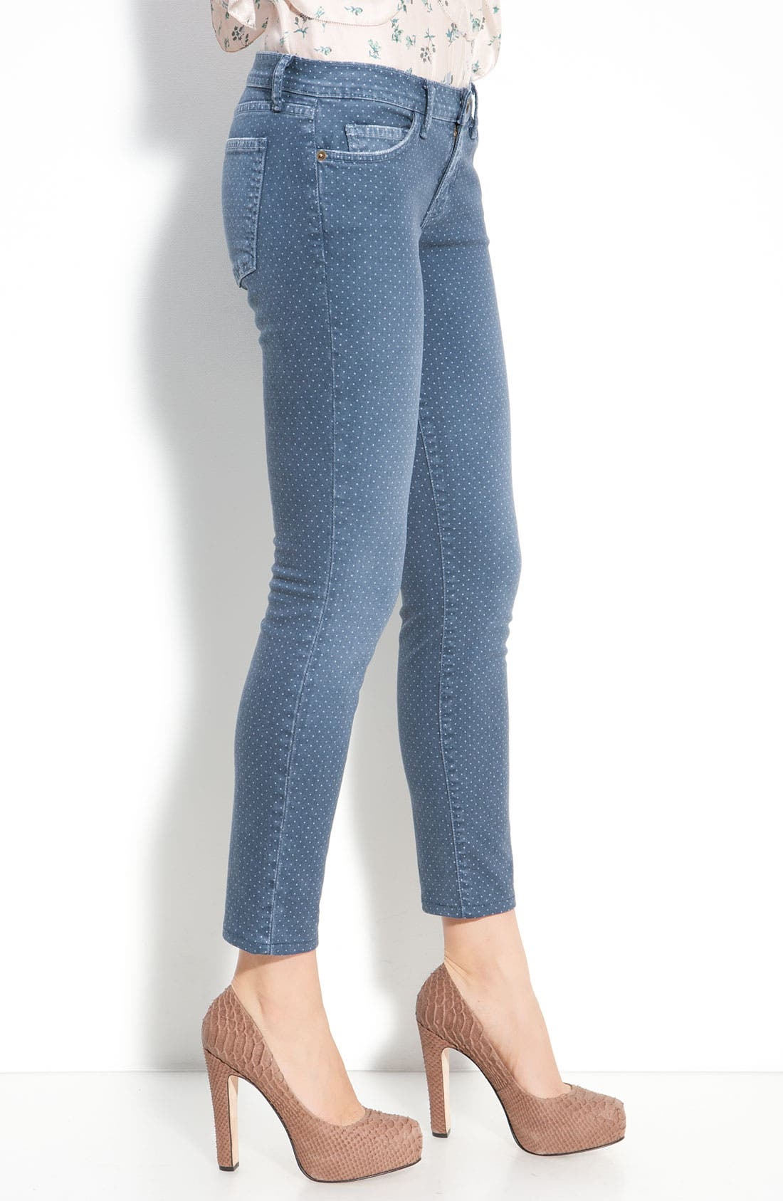Alternate Image 3  - Current/Elliott 'The Stiletto' Stretch Jeans (Lake Wash)