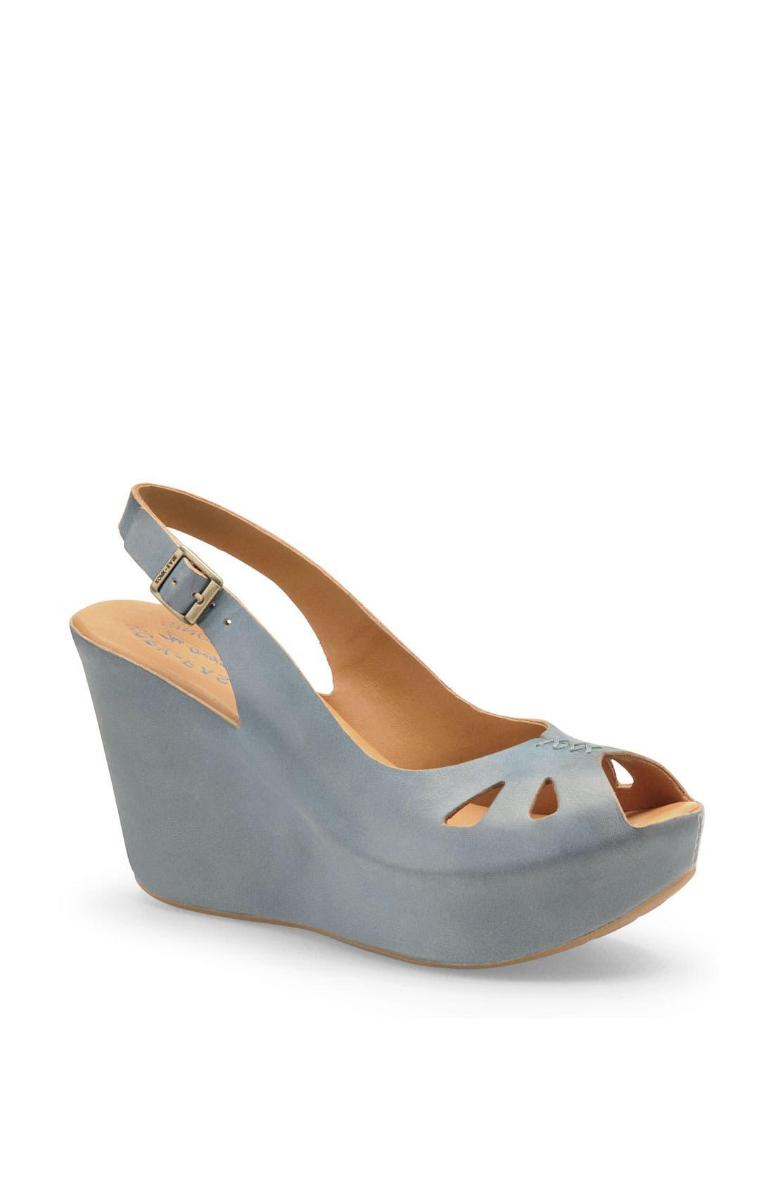 Alternate Image 1 Selected - Kork-Ease® 'Felicia' Platform Sandal (Women)